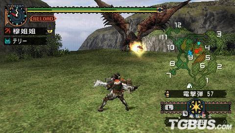 《怪物猎人2G》雌火龙、雄火龙、黑狼鸟重弩篇