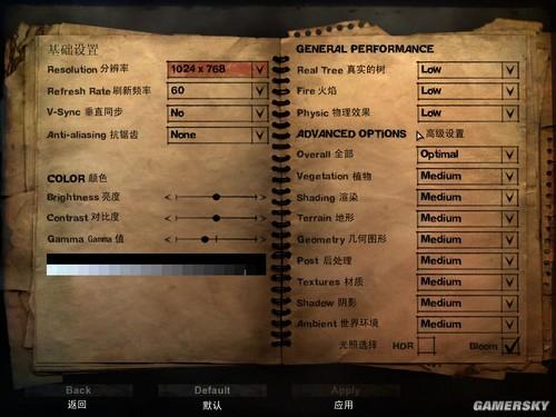 PC《孤岛惊魂2》武器商店界面中文翻译