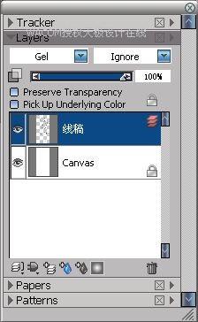 Painter教程:手绘粉笔画风格时装效果图