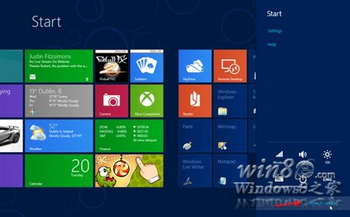 Win8个性化设置:锁屏、欢迎、帐户