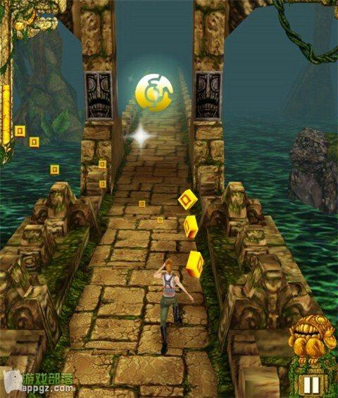 《Temple run》中游戏道具使用攻略(iphone版)