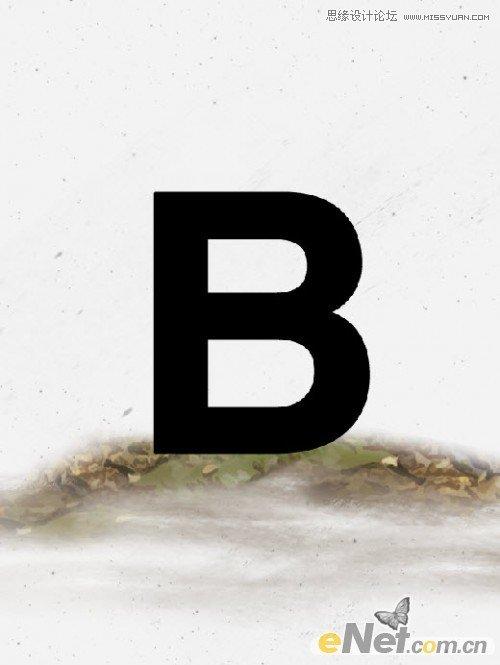 ps文字-打造颓废的木纹字体效果