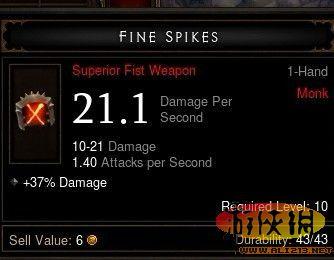 《暗黑破坏神3》武器dps计算方法简单介绍
