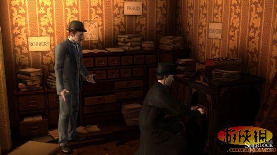 《夏洛克福尔摩斯的新冒险》游戏最新截图公布