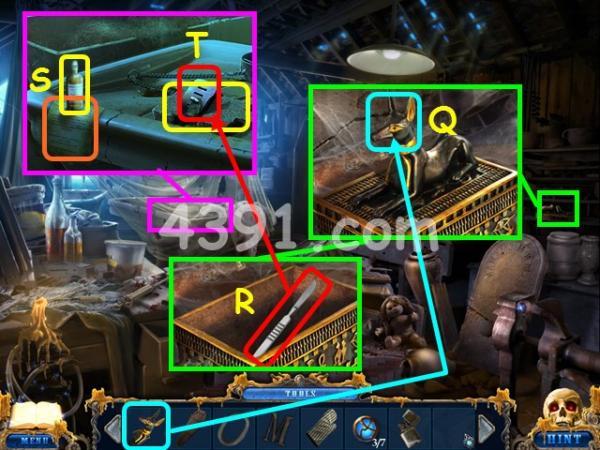 《黑暗空间2:蜡美人》第三章图文攻略