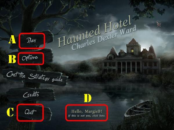 幽魂旅店第一章攻略