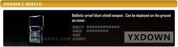 《使命召唤9:黑色行动2》枪械武器全集