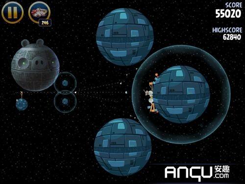 《愤怒的小鸟:星球大战》第二大关6-10三星攻略