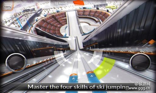 超级滑雪少年SuperSkiJump操控攻略