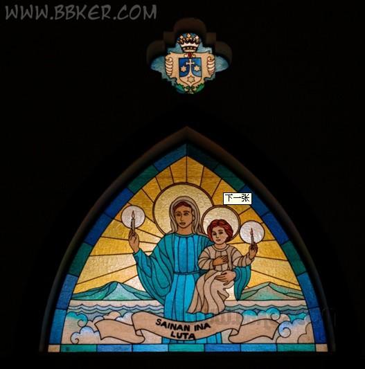 如何拍好教堂的彩色玻璃窗