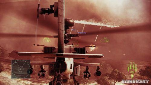 《皇牌空战7:突击地平线》流程攻略第三关:Red moon(红月)