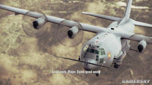 《皇牌空战7:突击地平线》流程攻略第四关:Spooky(幽灵)