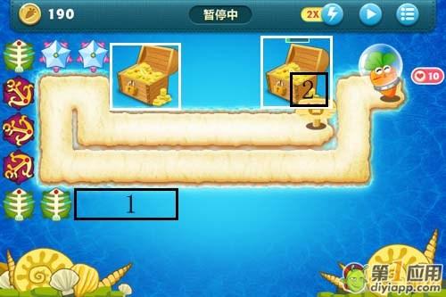 《保卫萝卜》深海主题第七关攻略(2)