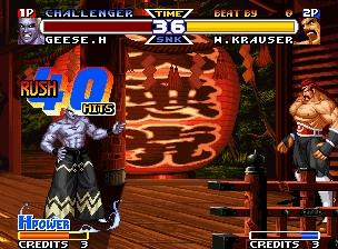 RB饿狼传说特别版(1997)出招表