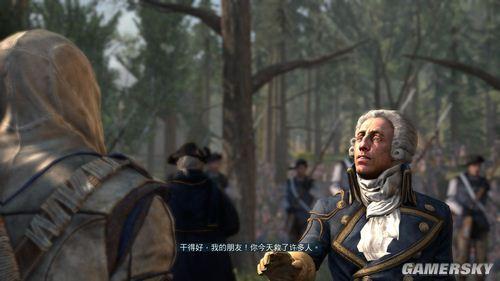 《刺客信条3》第十章之蒙茅斯战役