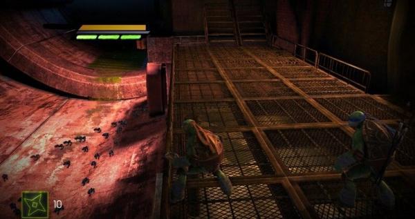 《忍者神龟:脱影而出》游戏第二关通关攻略