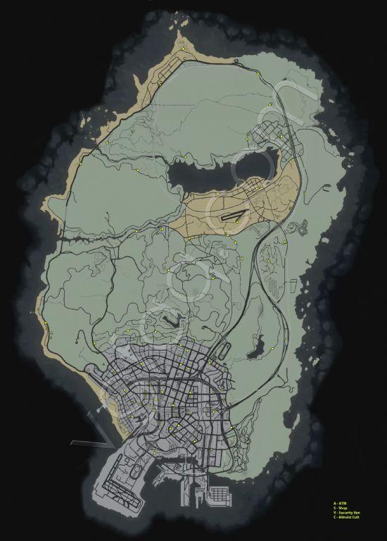 《侠盗猎车手5》蓝点随机任务图文攻略