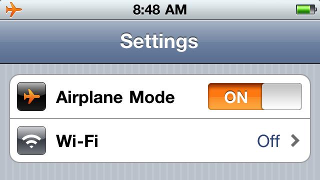"""手机的""""飞行模式""""是什么意思"""