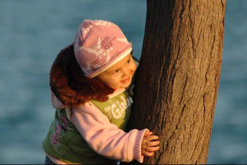 用Photoshop打造儿童老照片效果
