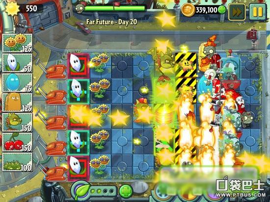 《植物大战僵尸2》遥远的未来第20天攻略 保护杨桃