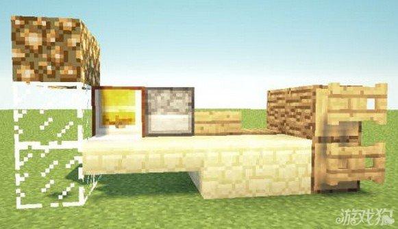 《我的世界》马路上的组件建筑教程