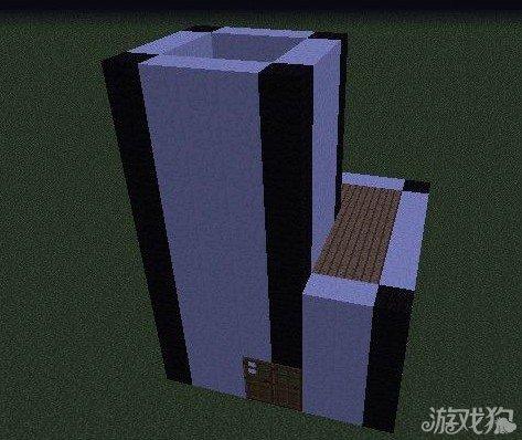 《我的世界》建筑教程之黑白风格
