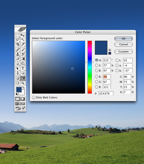 利用Photoshop合成一张写实风格的奇幻空间