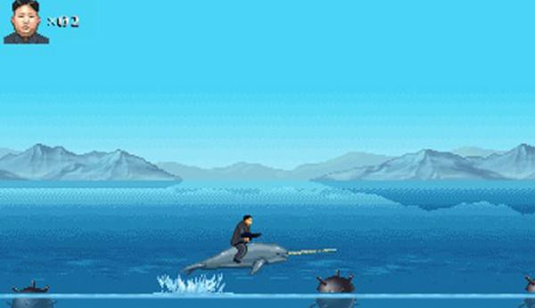 美国公司推出新款游戏《光荣领袖》 主角酷似金正恩