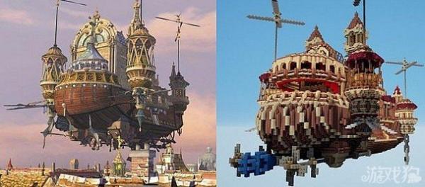 《我的世界》飞行的梦剧场建筑分享及介绍