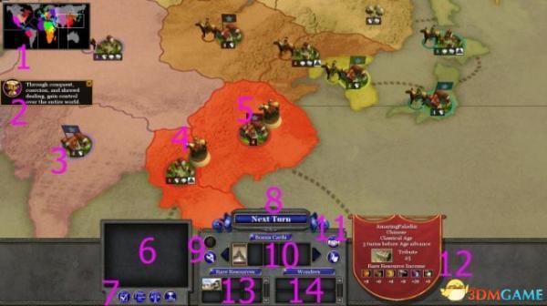 《国家的崛起:扩展版》 游戏系统界面全解析
