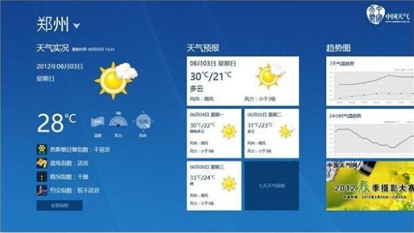 巧妙解决Win8自带天气无法使用的问题