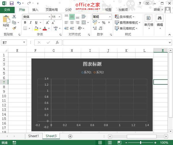 用Excel快速将数据变为可视的图表样式