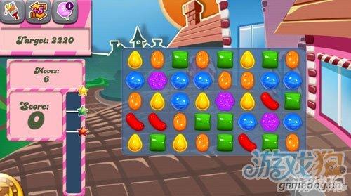 《糖果粉碎传奇Candy Crush Saga》1,2,3,4,5关过关攻略