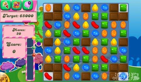 《糖果粉碎传奇Candy Crush Saga》61,62,63,64,65关过关攻略