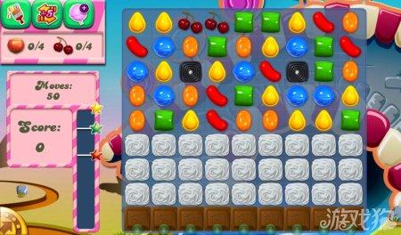 《糖果粉碎传奇Candy Crush Saga》81,82,83,84,85关过关攻略
