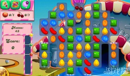 《糖果粉碎传奇Candy Crush Saga》91,92,93,94,95关过关攻略