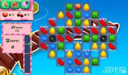 《糖果粉碎传奇Candy Crush Saga》136,137,138关过关攻略