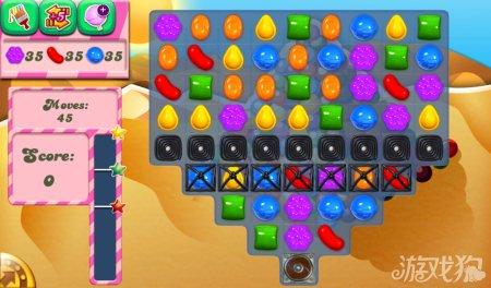 《糖果粉碎传奇Candy Crush Saga》154,155,156关过关攻略