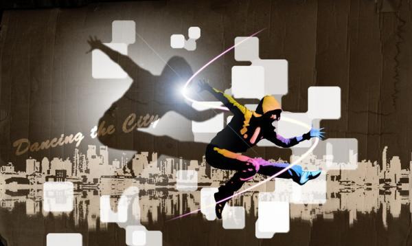 用photoshop制作炫丽时尚的街舞海报