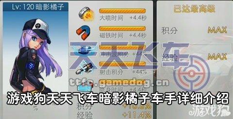 《天天飞车》暗影橘子车手介绍