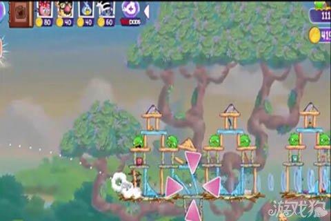 《愤怒的小鸟:史黛拉》44-45关通关攻略 奇特的猪堡垒