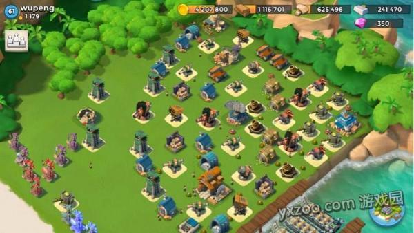 《海岛奇兵》世界前50玩家扇形阵推荐 扇形的魔力