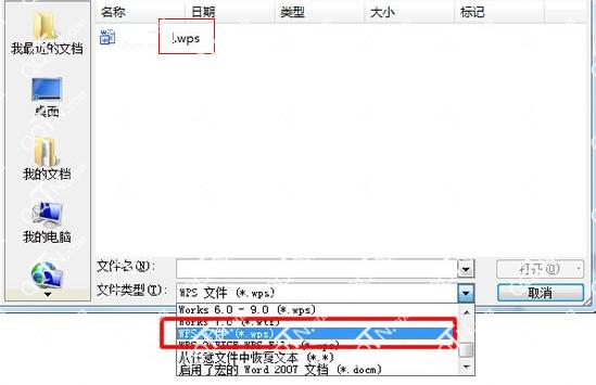 wps文件用什么打开