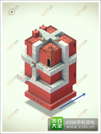 《纪念碑谷》RED第五关:红色房子攻略