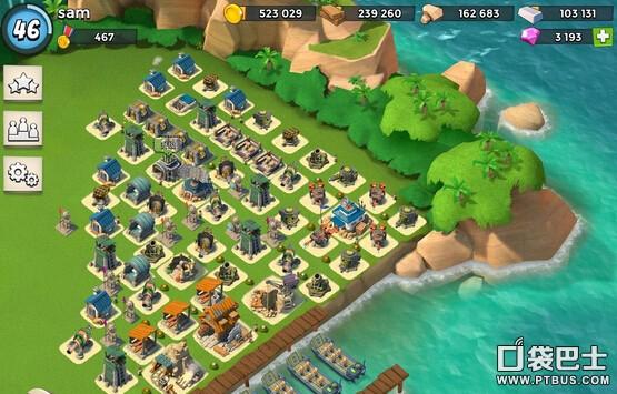 《海岛奇兵》17本防御野人阵型