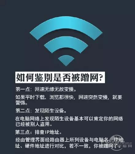 如何鉴别你家的wifi是否被蹭