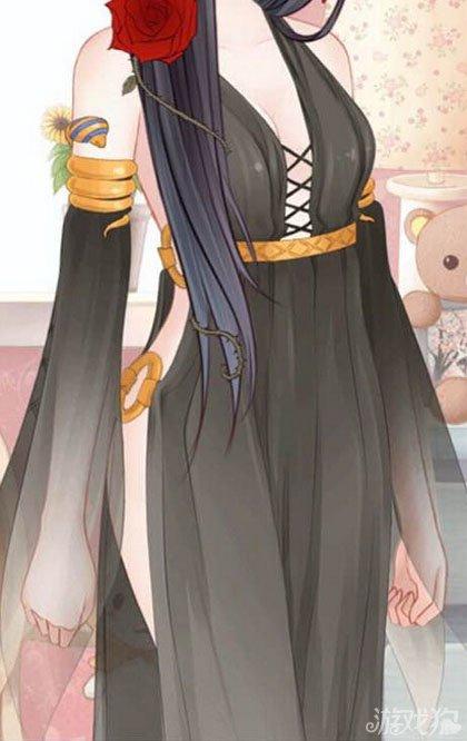 《暖暖环游世界》关于幽莲之夜连衣裙的吐槽
