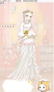 《暖暖环游世界》天空之塔高贵圣洁的女神怎么过关
