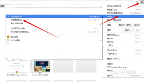 谷歌浏览器收藏夹在哪里