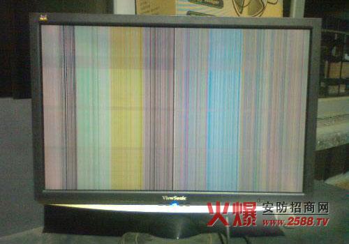 液晶显示器花屏怎么办